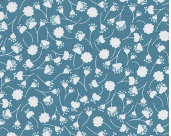 SALE Michael Miller Turquoise Falling Flowers