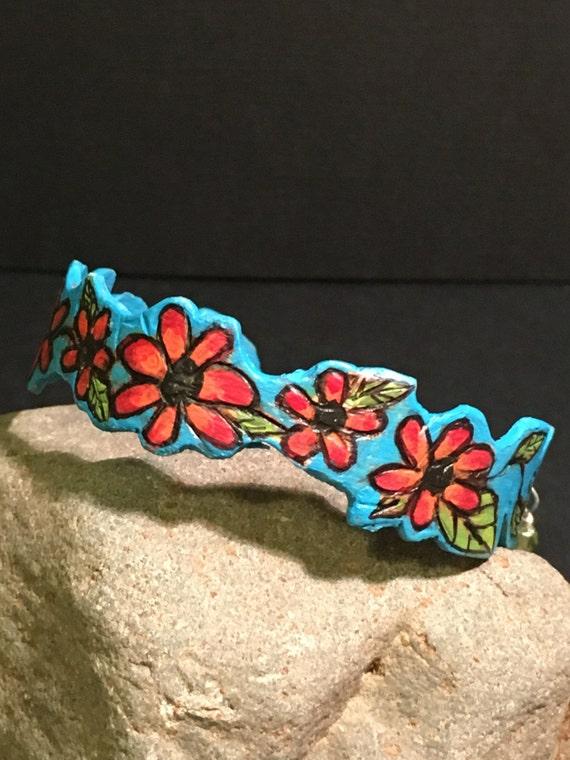 """Bracelet """"Sky Full of Poppies"""""""