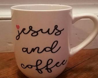 Jesus and Coffee Mug