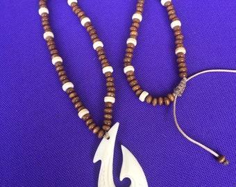 maori wave pendant necklace