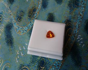 Loose Approximately 2.65CT 8.22x8.05MM Trillion Cut Spessartite Garnet