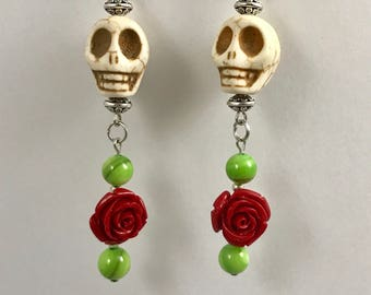 Day of the Dead / Sugar skull earrings