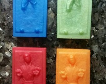 Han Solo Soap / Carbonite Soap / Star Wars Soap / Stocking Stuffer / Gift for Him / Gift for Her / Party Favor / Geeky Soap