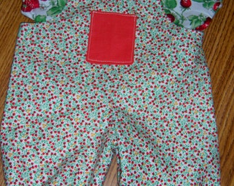 Strawberry Picking romper for Cabbage Patch
