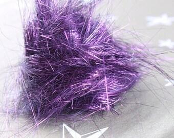 Garnet Angelina fiber for spinning and felting