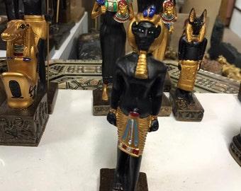 Egyptian Statue Akhenaten Hand Carved Made in Egypt