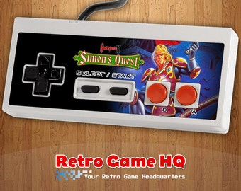 NES - Castlevania II 2: Simon's Quest - Controller Overlay (Controller Not Included)