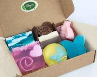 Family small Gift box - Handmade soaps