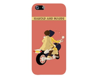 Harold and Maude illustrated Iphone case