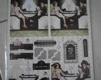 ART DECO SCRAPBOOKING KIT