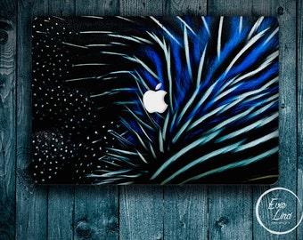 Abstract feather Macbook Decal / Macbook Sticker / Stickers macbook pro / Laptop sticker / Stickers laptop / Macbook pro 13 case / EL033