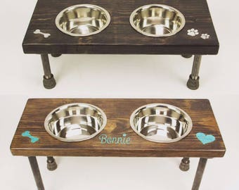 Pet Bowls   Pet Feeder Stand   Dog Bowl Stand   Cat Bowl Stand   Food and Water Bowls   Personalized Dog Bowls   Pet Food Holders