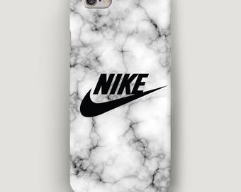 Nike Marble iPhone SE Case, Grey iPhone 5C Case, iPhone 6s Plus Cases, Cell Phone Case, Marble iPhone 7 Case, Nike iPhone 6 Plus Case