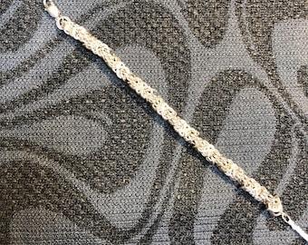 Tryzantine Sterling Silver Bracelet