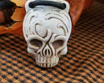 Skull Bottle Pendant