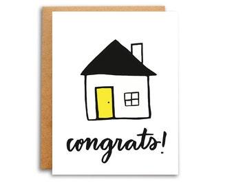 Congrats New Home Housewarming Card