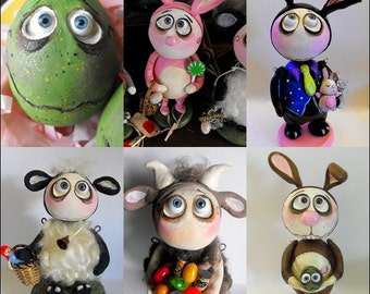 Made to order Spring Grimmy art dolls