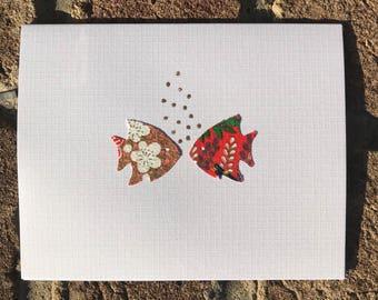 kissing fish (8 pack)
