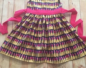 Girls Lipstick dress