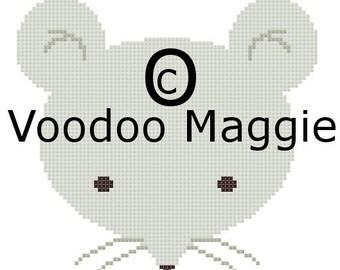 Woodland Mouse Cross stitch pattern