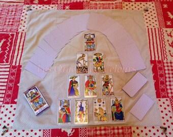 Carpet clairvoyance 70/70 cm - Clairvoyance Carpet - Fortune Telling Carpet-