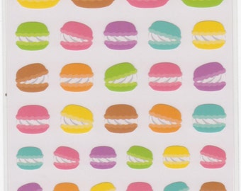 Macaron Stickers - Mind Wave Stickers - Reference A1306-08