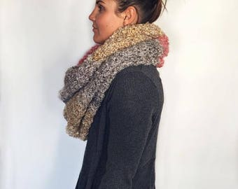 Chunky Cowl - knit
