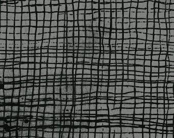 Treasure Hunt by Marcia Derse for Windham Fabrics - Full or Half Yard Smoke Screen - 43191-20 - Gray Black Modern Quilt Fabric