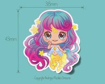 Zodiac Chibis Series - Sagittarius planner sticker