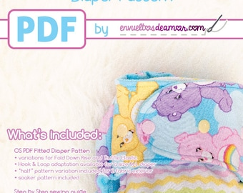 EDA OS Fitted Diaper Pattern