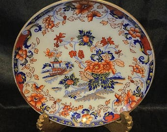 """A quality, """" Japan"""" pattern, chinoiserie dish"""