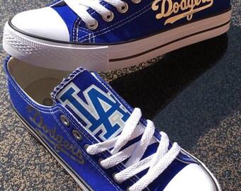 LA Dodgers Custom Made Shoes