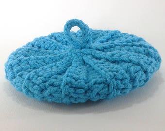 Cotton/acrylic 10 cm turquoise Tawashi