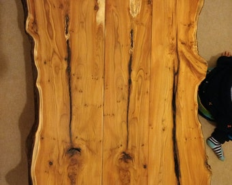 Yew coffee table