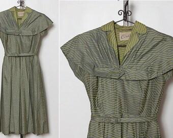 vintage 1940s dress by Cirilo