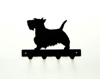 Scottish Terrier Leash Rack