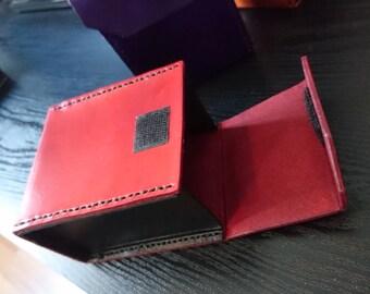 Handmade Leather Deck box Yugioh Pokemon MTG