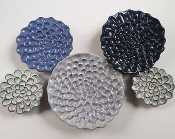 In-Stock Wall Flower Set of 5