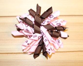 DERNIER, Koker la Saint-Valentin arc, rose & marron