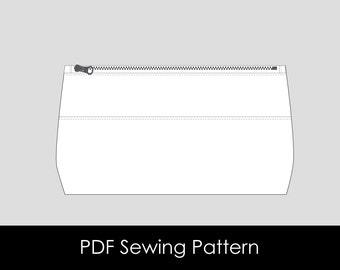 Lil Lovelies Zippered Pouch - PDF Pattern
