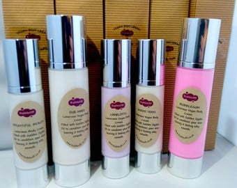 Luxurious Vegan Face & Body Cream - Vegan, Rich and Cruelty Free