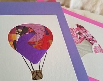 Greeting Cards, Iris folding art cards, Various , Set #9