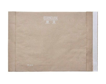 """6 x 9"""" - 100% Recycled Padded Mailer - Bundle of 10"""
