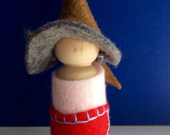 Felted Gnome