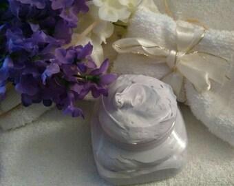 Lilac Body Butter~Body Butter~Moisturizer~Whipped Body Butter~Lilac Aromatherapy~Lilac Organic Body Butter~Daily Moisturizer~Lilac Lotion~