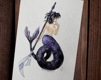 Mermaid Sailor Saturn