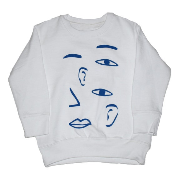 FACE - Toddler Long Sleeve Sweat Shirt - White