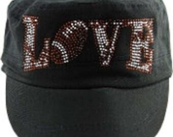 Love Football Hat
