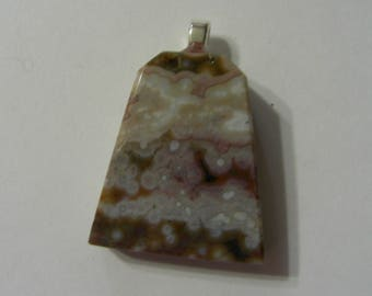 Genuine Ocean Orbicular Jasper Pendant