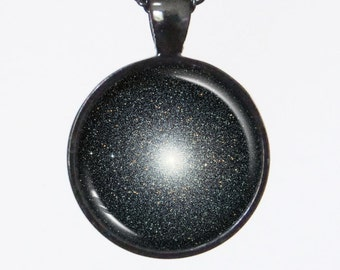 Star Cluster Necklace - Globular Star Cluster 47 Tucanae (NGC 104) - Galaxy Series